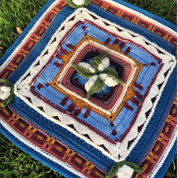 C2C Crochet New Mexico Square