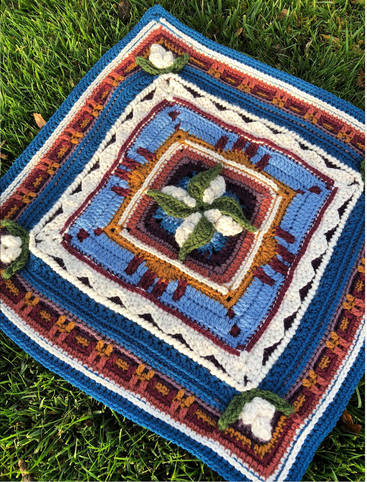 C2C Crochet New Mexico Square