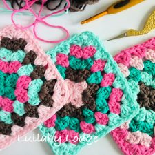 C2C Crochet The Perfect Granny Square